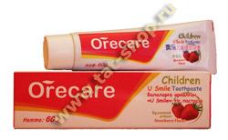 Детская зубная паста Orecare